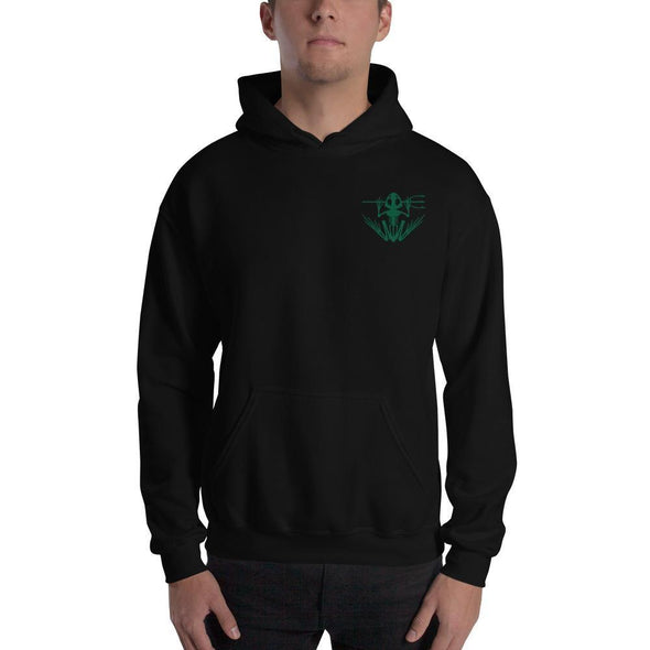 United States Navy UDT SEAL Frogman Embroidered Unisex Hoodie - Black / S