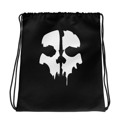 opszillastore,Ghost Drawstring bag,