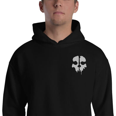 opszillastore,Ghost Embroidered Unisex Hoodie,