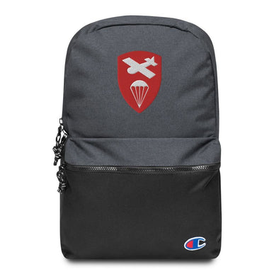 Glider Airborne Command Embroidered Champion Backpack