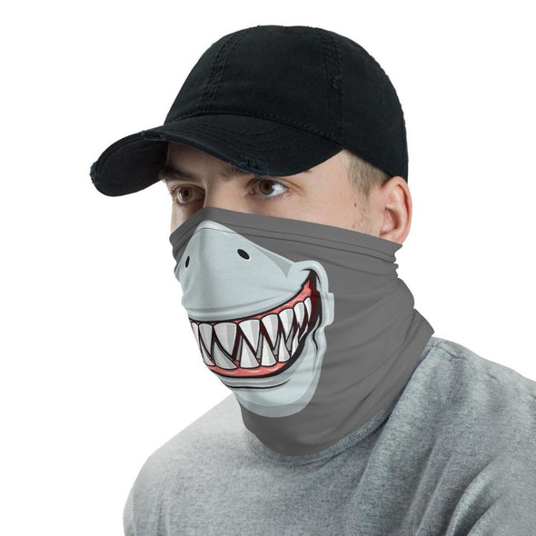 Great White Shark Teeth Neck Gaiter