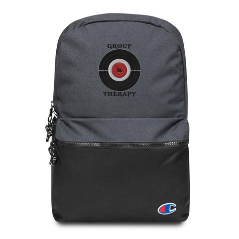 Group Therapy Embroidered Champion Backpack