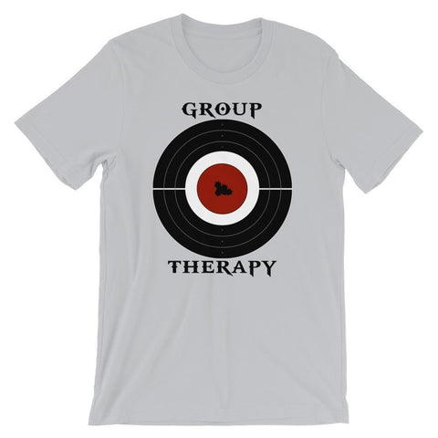 Group Therapy Short-Sleeve Unisex T-Shirt - Silver / S