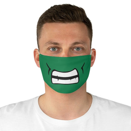 Hulk Teeth Fabric Face Mask - One size - Accessories