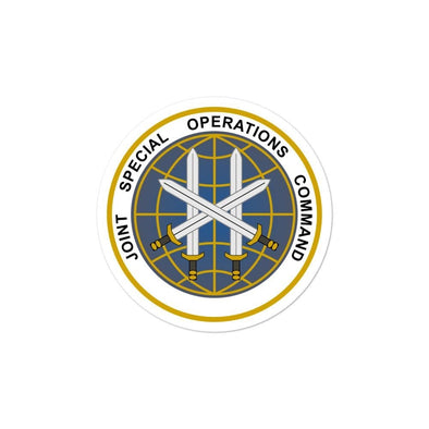 Joint Special Operations Command (JSOC) Bubble-free stickers - 3x3
