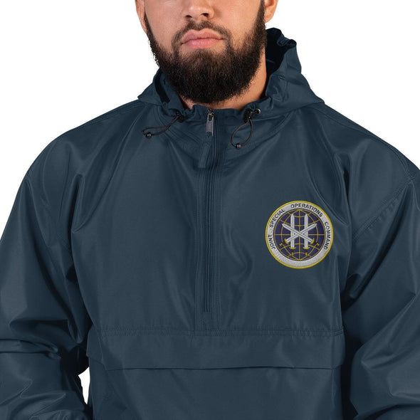 Joint Special Operations Command (JSOC) Embroidered Champion Packable Jacket - Navy / S