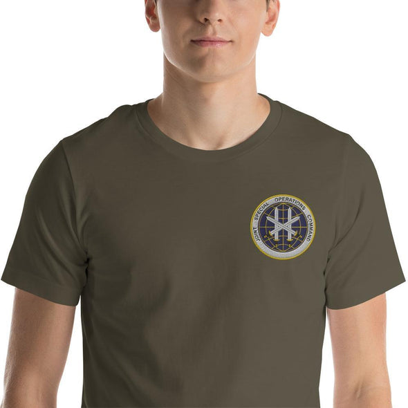 Joint Special Operations Command (JSOC) Embroidered Short-Sleeve Unisex T-Shirt - Army / S