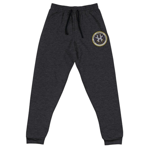 Joint Special Operations Command (JSOC) Embroidered Unisex Joggers - Black Heather / S