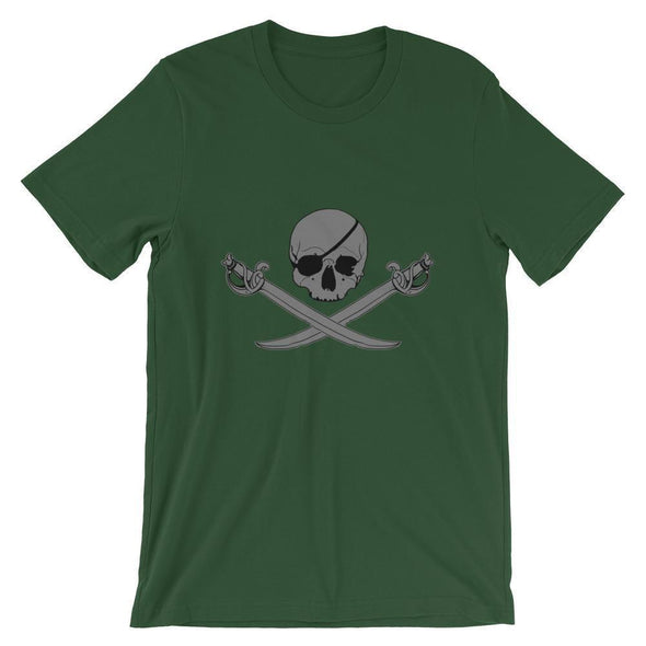 Jolly Roger Short-Sleeve Unisex T-Shirt - Forest / S