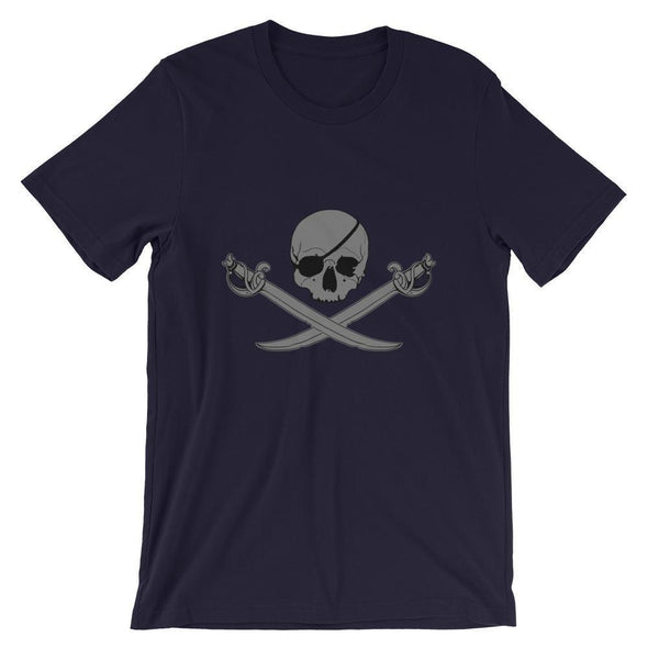 Jolly Roger Short-Sleeve Unisex T-Shirt - Navy / XS