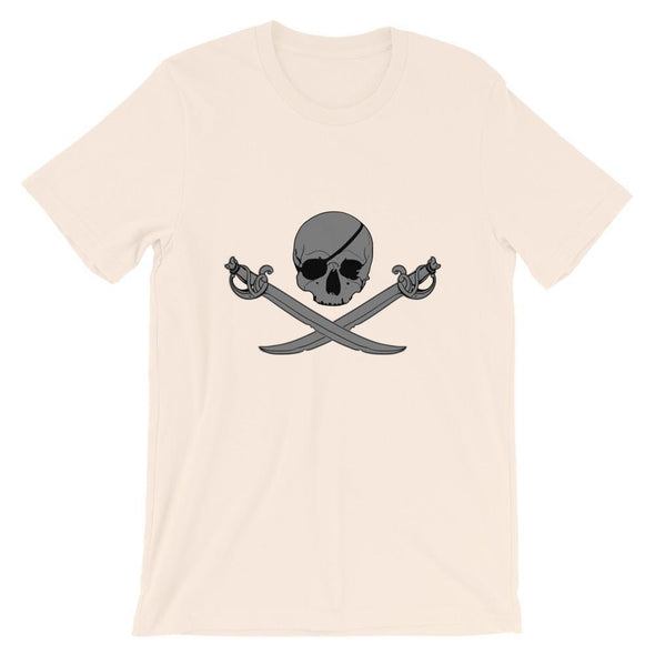 Jolly Roger Short-Sleeve Unisex T-Shirt - Soft Cream / S