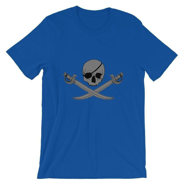 Jolly Roger Short-Sleeve Unisex T-Shirt - True Royal / S