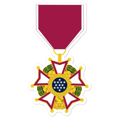 Legion of Merit Medal Bubble-free stickers - 5.5x5.5