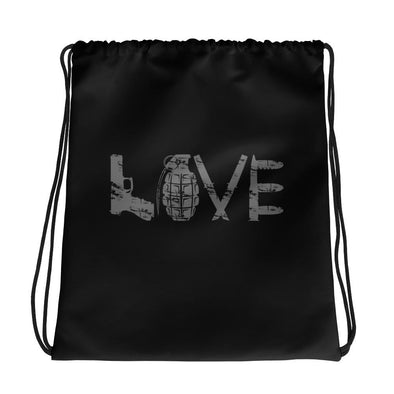 LOVE Drawstring bag