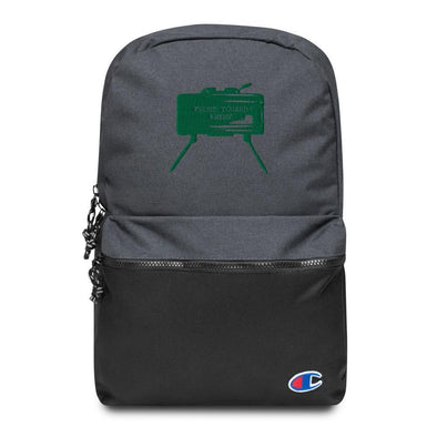 Claymore Mine Embroidered Champion Backpack