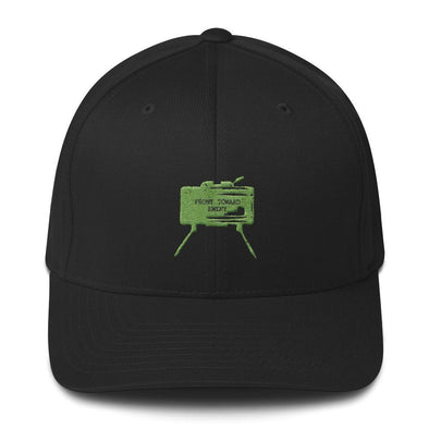 opszillastore,Claymore Mine Embroidered Structured Twill Cap,