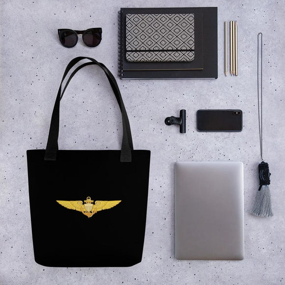 opszillastore,Naval Aviator Wings Tote bag,