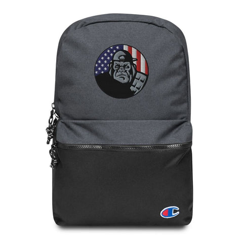 OPSZILLA Logo Embroidered Champion Backpack
