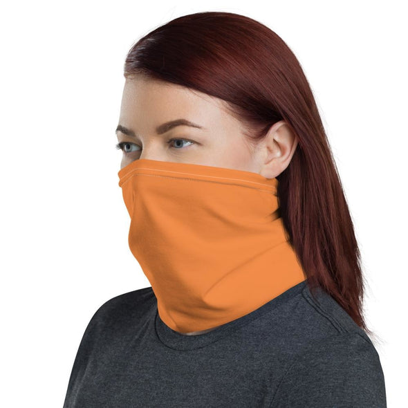 Orange 1 Neck Gaiter