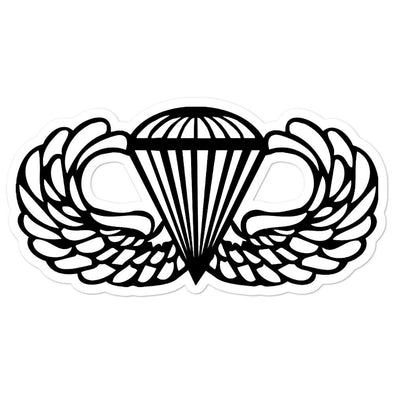 Parachutist Badge Bubble-free stickers - 5.5x5.5