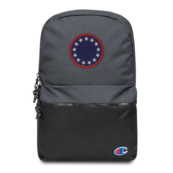 Patriotic Roundel Embroidered Champion Backpack