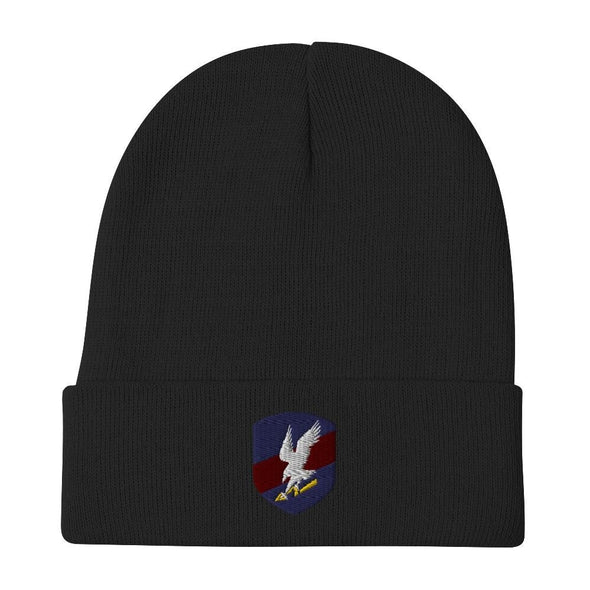 Polish JW GROM Embroidered Beanie - Black