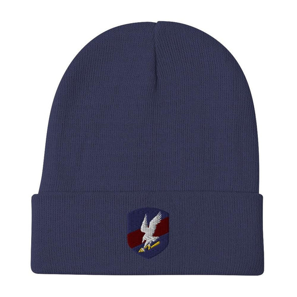 Polish JW GROM Embroidered Beanie - Navy