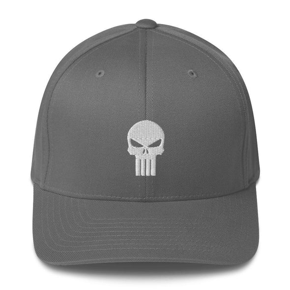 opszillastore,Punisher Embroidered Structured Twill Cap,