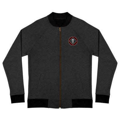 opszillastore,Raider Embroidered Bomber Jacket,