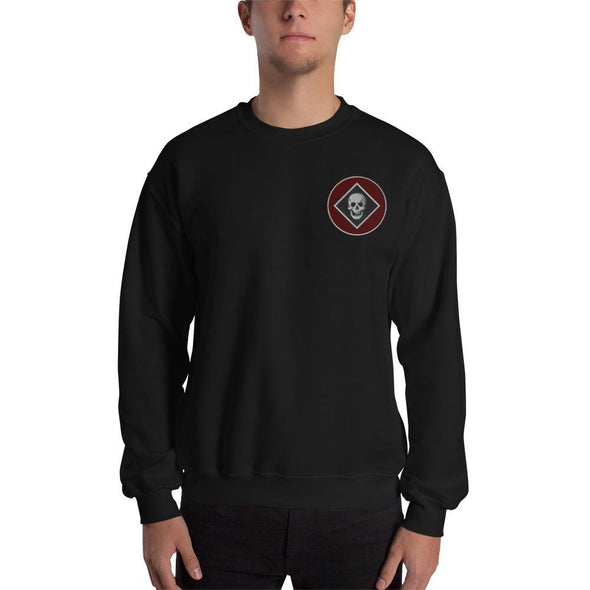Raider Embroidered Unisex Sweatshirt - Black / S