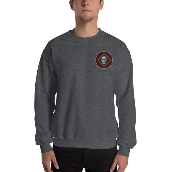 Raider Embroidered Unisex Sweatshirt - Dark Heather / S