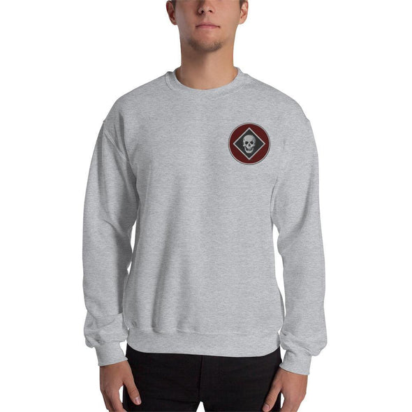 Raider Embroidered Unisex Sweatshirt - Sport Grey / S