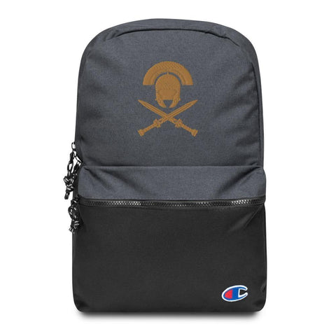 Spartan Embroidered Champion Backpack