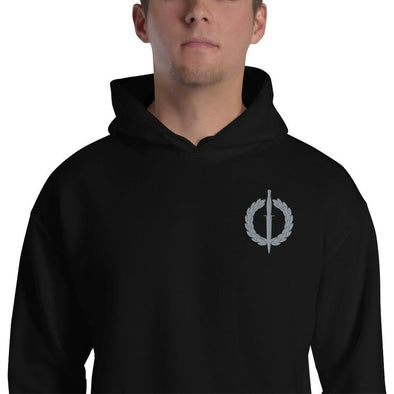 South African Special Forces (RECCE) Embroidered Unisex Hoodie - Black / S