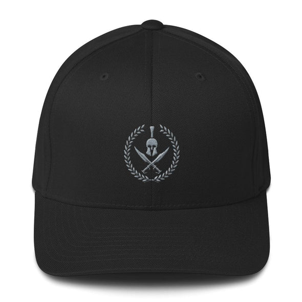 opszillastore,Spartan Crossed Swords Embroidered Structured Twill Cap,