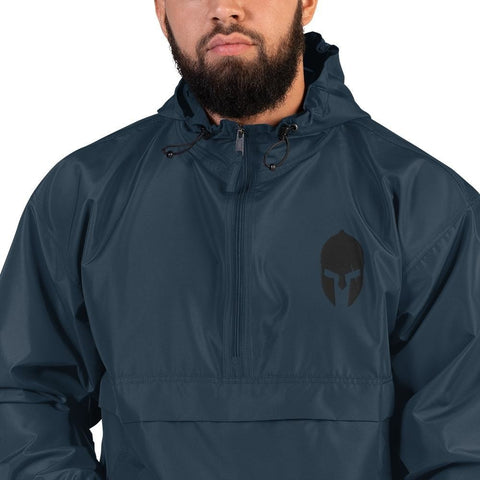opszillastore,Spartan Helmet Embroidered Champion Packable Jacket,