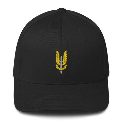 opszillastore,Special Air Service (SAS) Embroidered Structured Twill Cap,