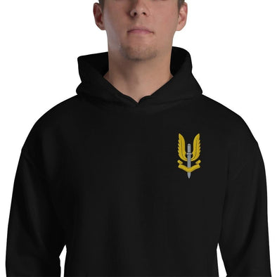 Special Air Service (SAS) Embroidered Unisex Hoodie - Black / S