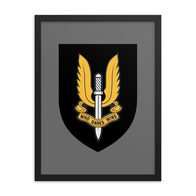 Special Air Service (SAS) Framed poster - 18×24