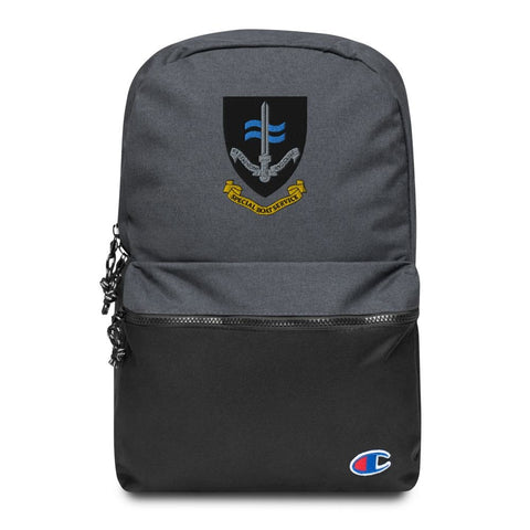 Special Boat Service (SBS) Embroidered Champion Backpack