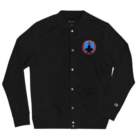 opszillastore,Strike Fighter Embroidered Champion Bomber Jacket,