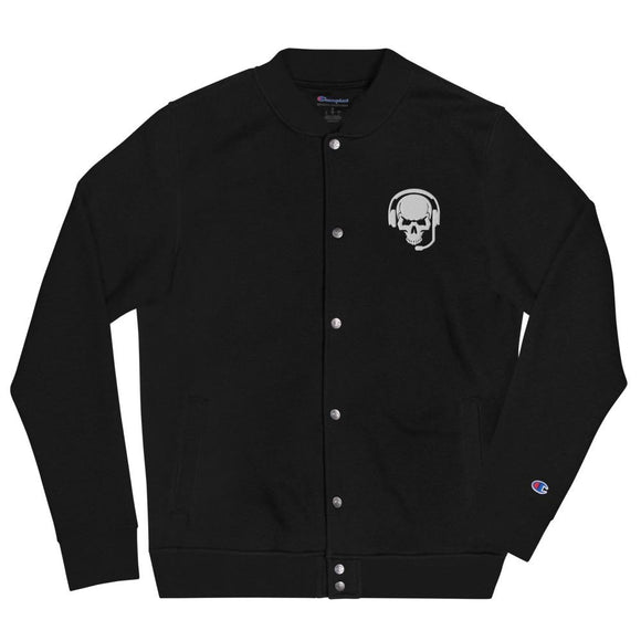 Target Confirmed Embroidered Champion Bomber Jacket - Black / S