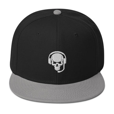 Target Confirmed Embroidered Snapback Hat - Gray / Black / Black