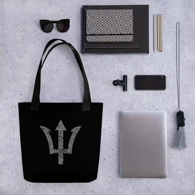 Trident Tote bag - Black