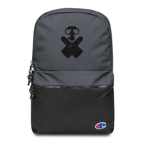 Underwater Embroidered Champion Backpack