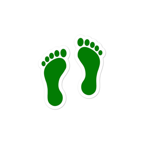 opszillastore,United States Air Force Pararescue (PJ) Green Feet Bubble-free stickers,