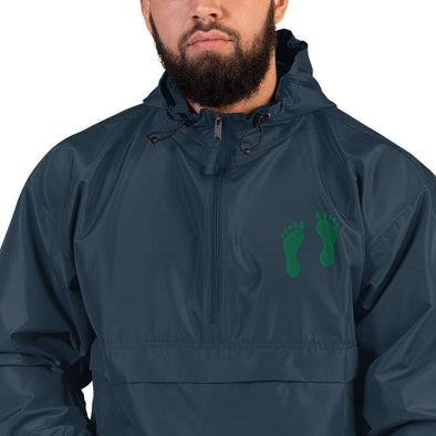 opszillastore,United States Air Force Pararescue (PJ) Green Feet Embroidered Champion Packable Jacket,