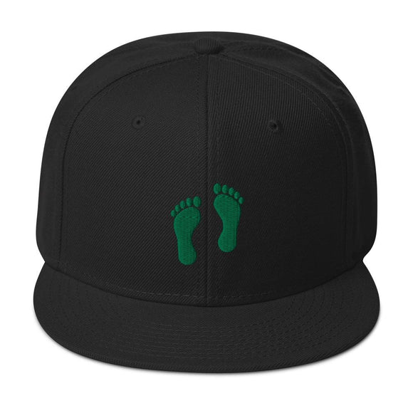 opszillastore,United States Air Force Pararescue (PJ) Green Feet Embroidered Snapback Hat,