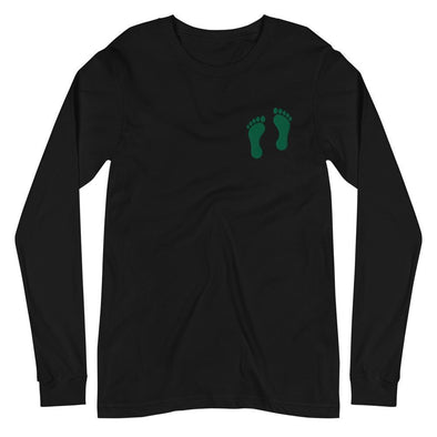 opszillastore,United States Air Force Pararescue (PJ) Green Feet Embroidered Unisex Long Sleeve Tee,