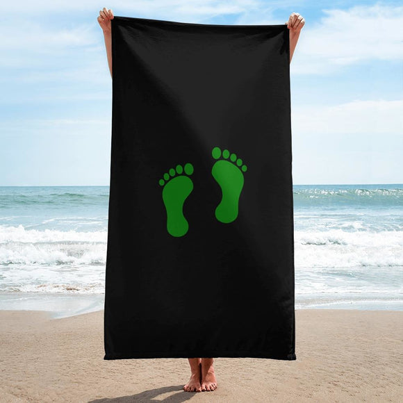 opszillastore,United States Air Force Pararescue (PJ) Green Feet Towel,